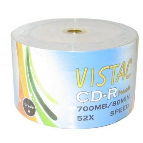 CD خام پرینتیبل Vistac شرینگ 50 تایی