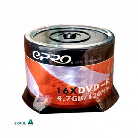 دی وی دی خام اپرو باکس دار 50 عددی (Epro)