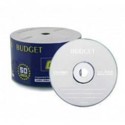 سی دی خام باجت BUDGET (پک 50 عددی)